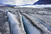 picture of crevasse  - Glacier Up Close  - JPG