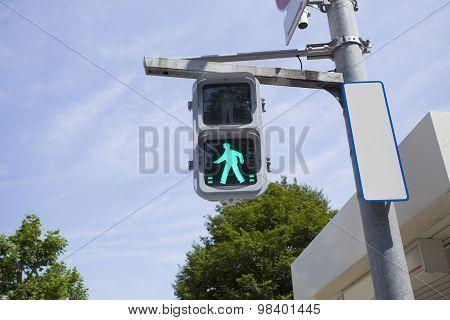 Walk Sign In Japan