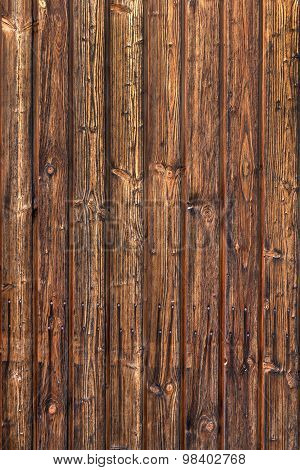Brown vertical wooden texture