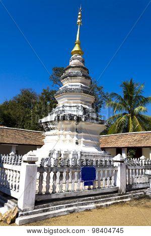 Old Pagoda With Sky