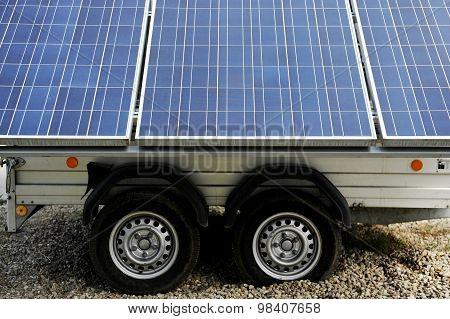 Mobile Solar Panels