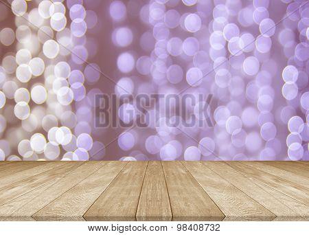 Wooden Flooring Separate Background