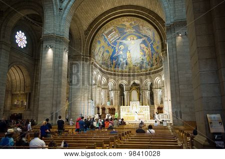 Interior Of Sacre Coeur