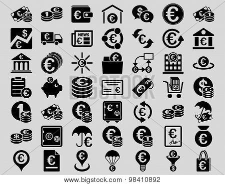 Euro Banking Icons