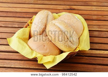 Buns With Sesame