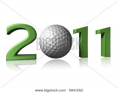 2011 golf ball design