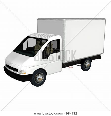Delivery Cargo Truck 1