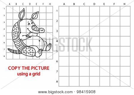 Grid copy armadillo