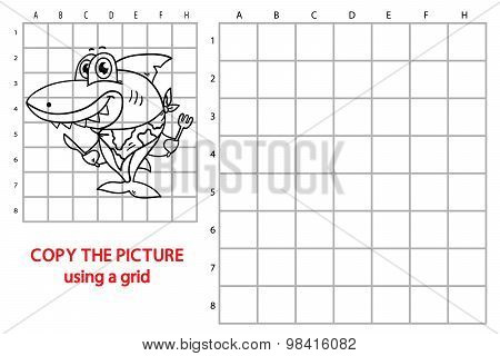 Grid copy shark