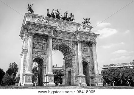 Arco Della Pace - Milan, Italy.