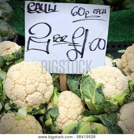Cauliflower Price