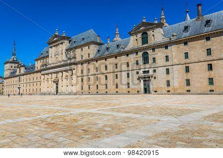 Royal Monastery Of San Lorenzo De El Escorial Near Madrid, Spain