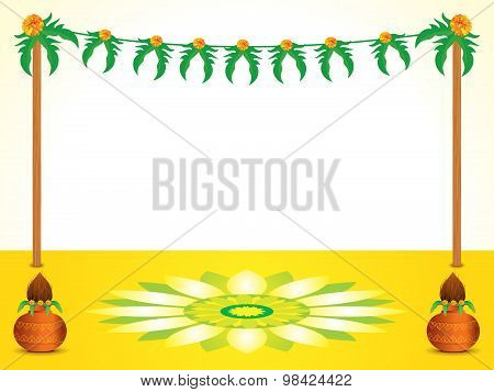 Abstract Indian Celebration Background