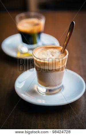 Espresso And Macchiato