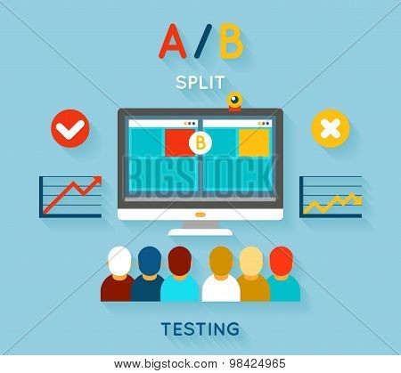 AB comparison test