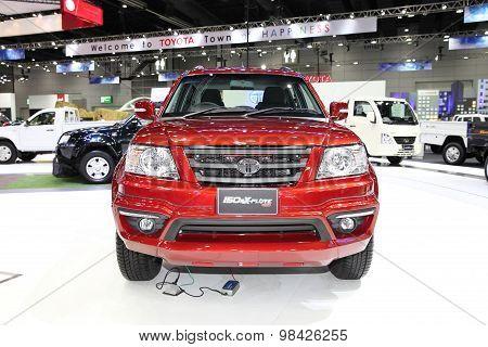 Bangkok - August 4: Tata 150N X-plore 4Wd Car On Display At Big Motor Sale On August 4, 2015 In Bang