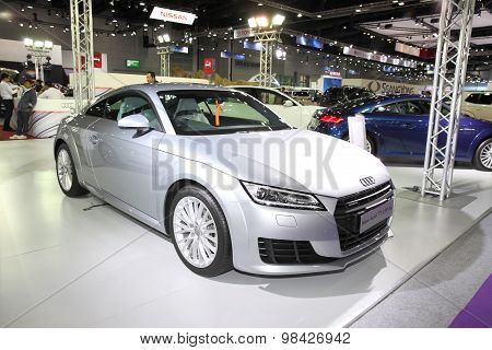 Bangkok - August 4: New Audi Tt 230 Hp Car On Display At Big Motor Sale On August 4, 2015 In Bangkok
