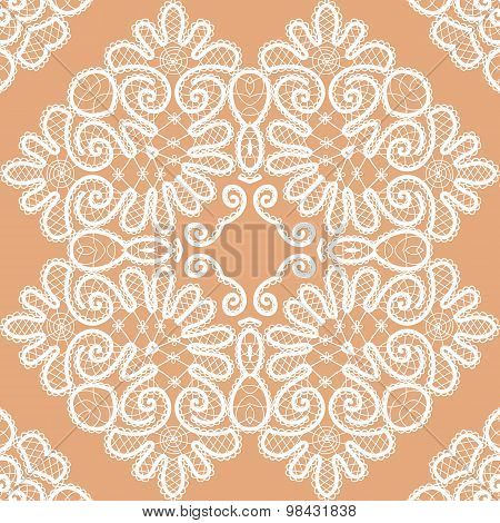 Abstract Seamless Lace Pattern