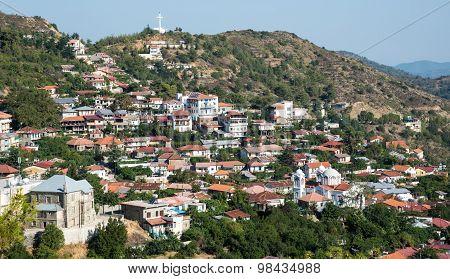 Mountain Village Of Pedoulas