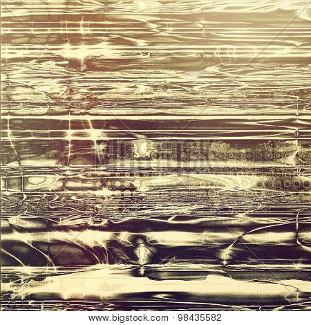 Abstract retro background or old-fashioned texture. With different color patterns: yellow (beige); brown; gray; black
