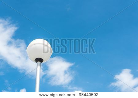 The Lamp Post On Sky