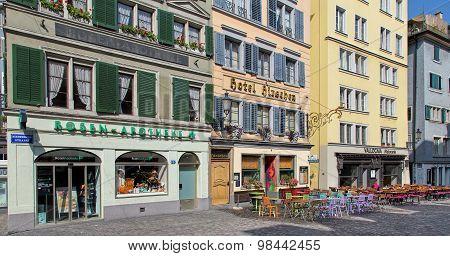 Zurich Old Town Street