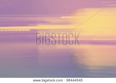 Abstract Vintage Colored Streaked City Lights Background