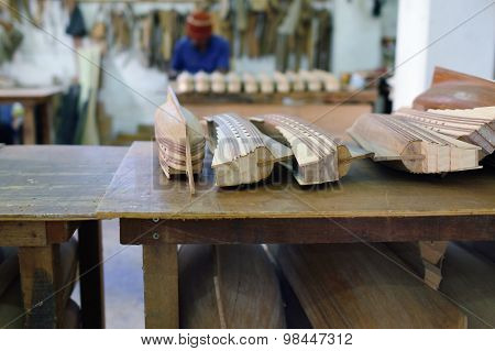 Ship Model Factory. Mauritius Island