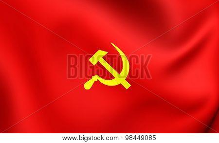 Hukbalahap Flag