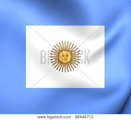 Naval Jack Of Argentina