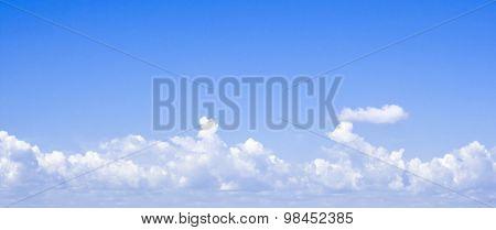Sunny sky clouds