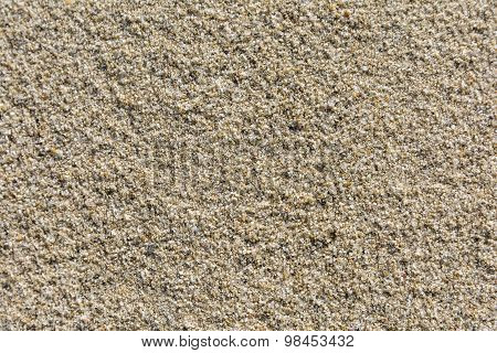 Grains Of Sand Form A Natural Texture