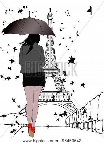 One Autumn Day In Paris