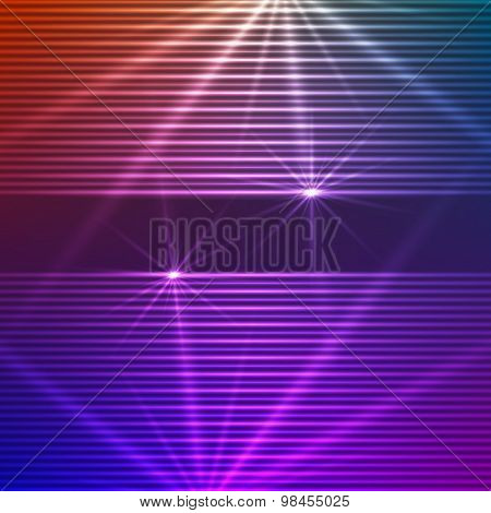 Gradient Background Glowing Lines Of Horizontal Template Label