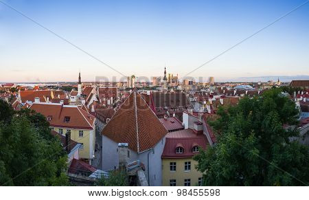 Old Tallinn In The Evening