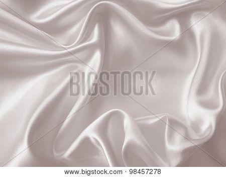 Smooth Elegant Silk Or Satin Texture As Wedding Background. In Sepia Toned. Retro Style