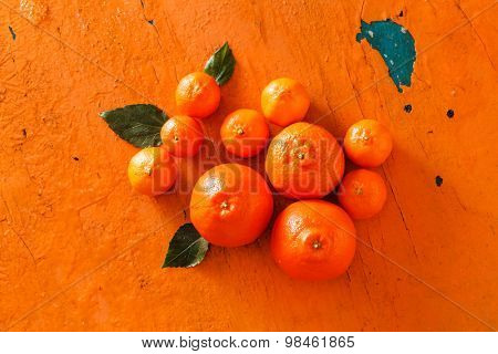 fresh mandarines