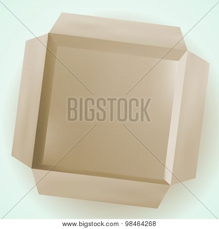 Isolated Box, Cardboard Box