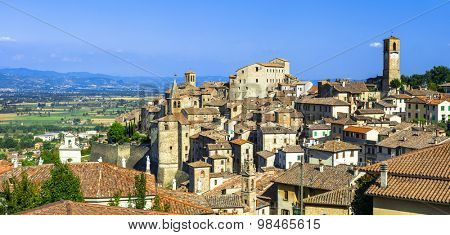 Anghiari - beautiful medieval village in Tuscany, Italy