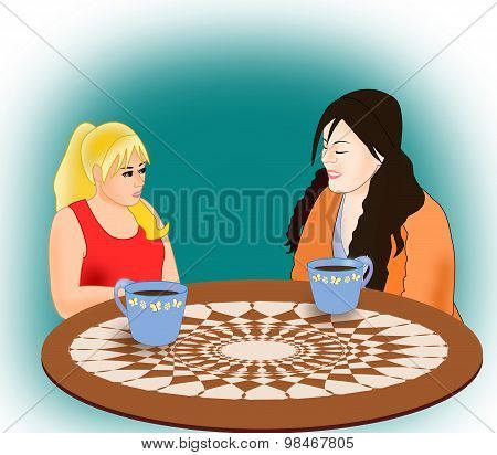 Girls with Coffee