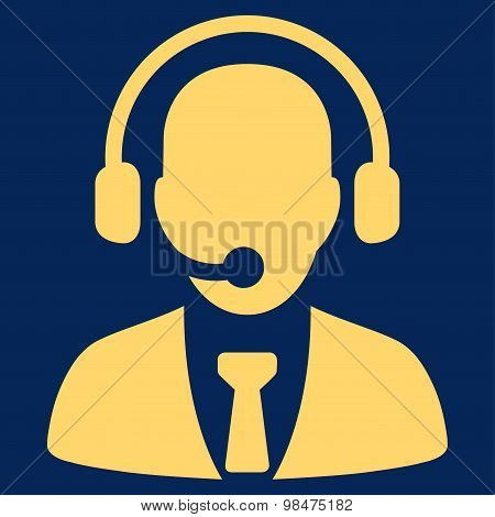 Call center icon from Business Bicolor Set