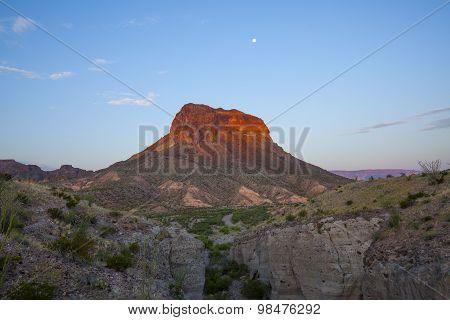 Cerro Castellan and Tuff Canyon
