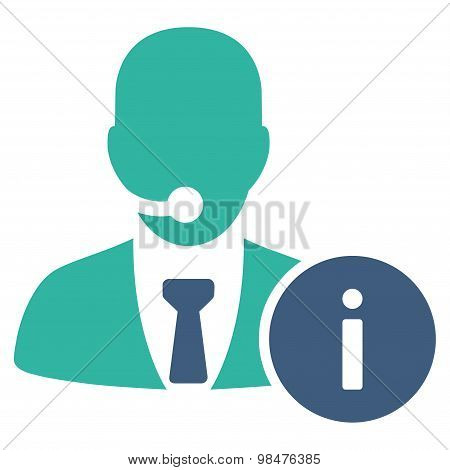 Help desk icon from Business Bicolor Set