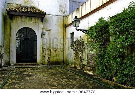 Alcazar Of Seville, In Spain