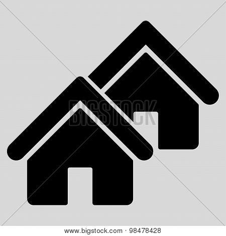 Realty icon from Business Bicolor Set