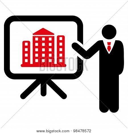 Home Project Icon from Business Bicolor Set