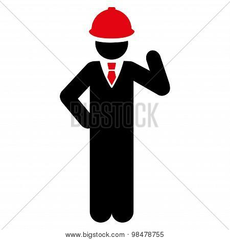 Engineer icon from Business Bicolor Set