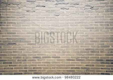 Dark Brown Grunge Brick Wall Texture Background
