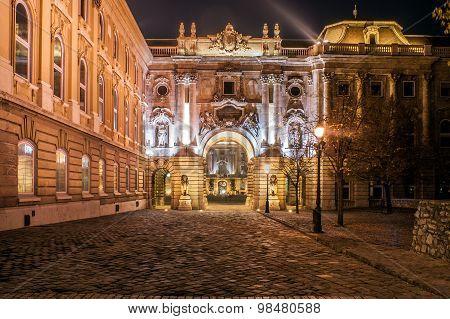Royal Castle Square, Budapest