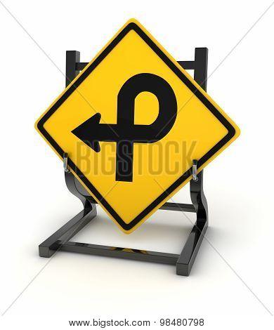 Road Sign - Crossroad